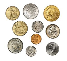pawn old coins and rare coins for sale