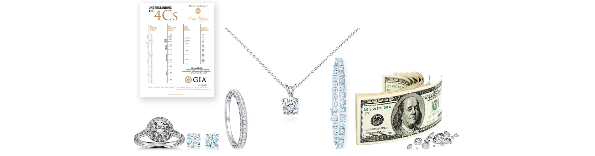 get cash for diamond necklaces and diamond bracelets